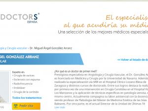 ENTREVISTA CON EL DR GONZALEZ ARRANZ EN TOP DOCTORS