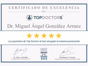 RECONOCIMIENTO DE LOS PACIENTES EN TOP DOCTOR